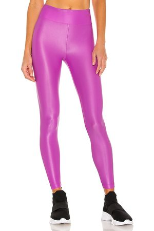 Koral Lustrous High Rise Legging in Purple.