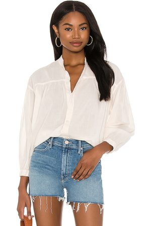 Mother The Gatherer Top in Ivory.