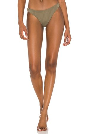 Mikoh Monti Bikini Bottom in Army.