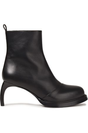 ANN DEMEULEMEESTER Woman Leather Ankle Boots Size 35