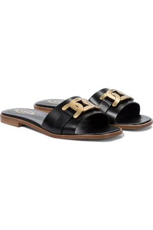 Tod's Leather slides