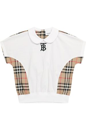 Burberry Girls Tops - Vintage Check cotton top