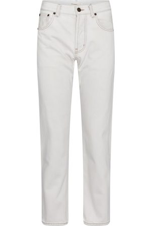 Saint Laurent Women High Waisted - High-rise straight jeans