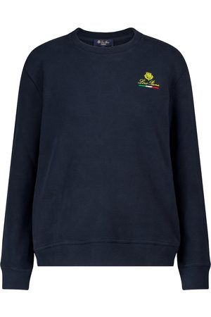 Loro Piana Women Sweatshirts - Horsey cotton sweatshirt