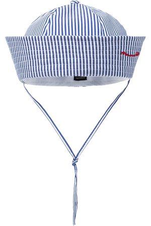 MONNALISA Caps - Stretch-cotton striped cap
