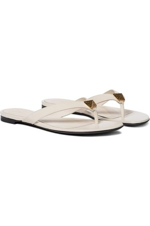 VALENTINO GARAVANI Women Sandals - Roman Stud leather thong sandals