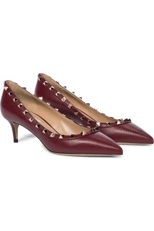 VALENTINO GARAVANI Women Pumps - Rockstud 50 leather pumps