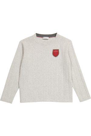 Brunello Cucinelli Logo cotton sweater