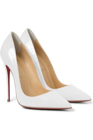 Christian Louboutin Women Pumps - So Kate 120 patent leather pumps