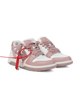 OFF-WHITE Women Sneakers - Out Of Office leather sneakers