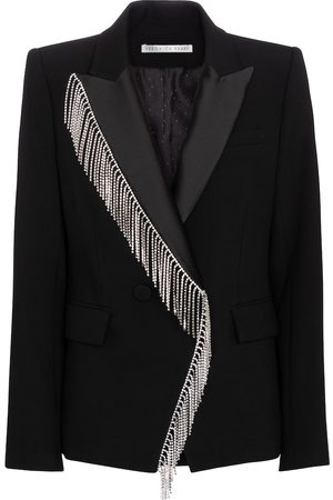 VERONICA BEARD Clarise crystal-embellished blazer