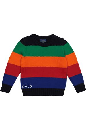 Ralph Lauren Boys Sweaters - Striped cotton sweater