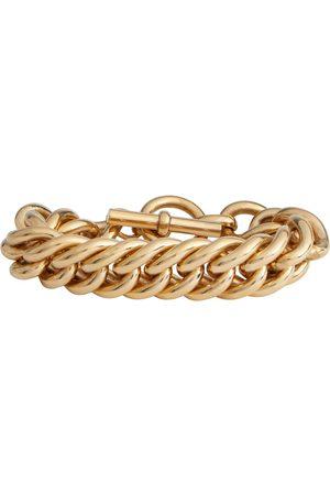 Tilly Sveaas Giant Curb Chain 18kt -plated bracelet