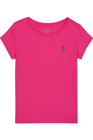 Ralph Lauren Girls Polo Shirts - Logo cotton-jersey T-shirt
