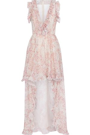 Giambattista Valli Women Printed Dresses - Floral silk maxi dress