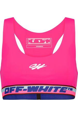 OFF-WHITE Women Sports Bras - Logo sports bra
