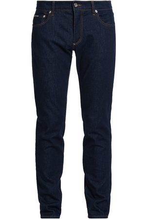 Dolce & Gabbana Men Slim - Men's Slim-Fit Stretch Jeans - Dark - Size 40