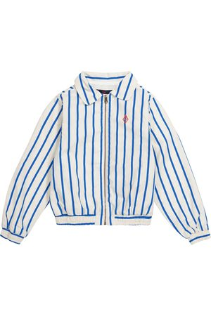 The Animals Observatory Tiger striped cotton jacket
