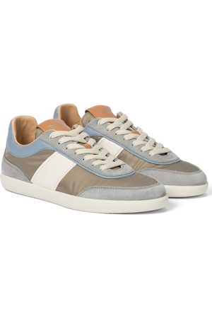 TOD/'S WOMEN/'S SHOES LEATHER TRAINERS SNEAKERS NEW SPORTIVO ALLCCAIATA SILVER B1F