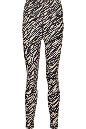 The Upside Women Leggings - Zebra-print leggings