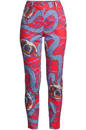 Stella Jean Women's Slim Printed Pants - Size 8