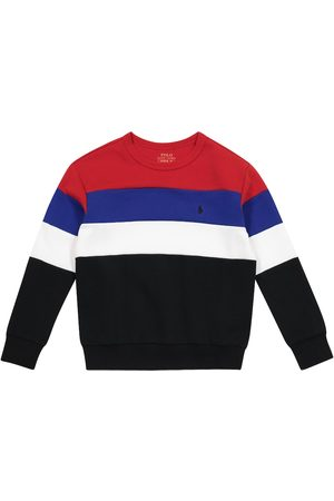 Ralph Lauren Striped cotton-blend sweatshirt