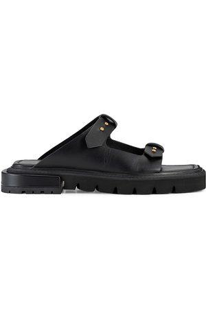 Frame Women's Le Hayden Leather Sandals - Noir - Size 10