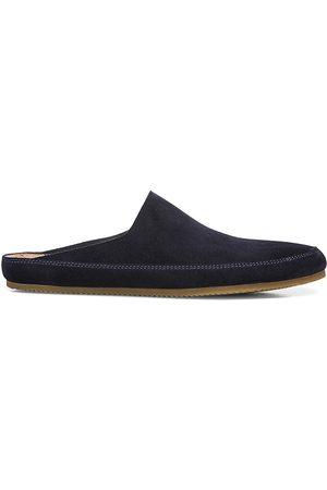 Vince Men Sports Equipment - Men's Alonzo Sport Suede Slippers - Coastal - Size 8