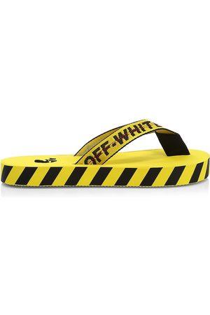 OFF-WHITE Men's Industrial Belt Flip Flops - - Size 5