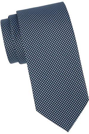 Eton Men's Diamond Silk Tie