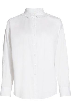 Gestuz Women T-shirts - Women's Stella Button-Down Shirt - Bright - Size 8