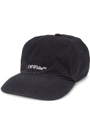 OFF-WHITE Men's Bookish Logo Baseball Cap