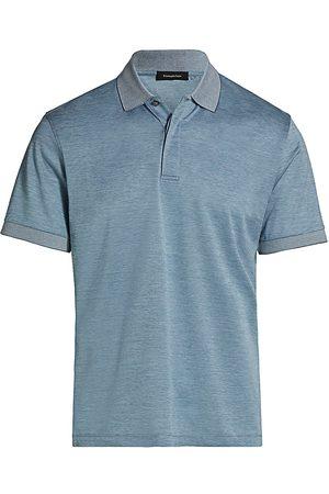 Ermenegildo Zegna Men Polo Shirts - Men's Classic Cotton Polo - Light Solid - Size 48