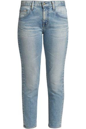 AG Jeans Women Boyfriend Jeans - Women's Ex-Boyfriend Slim-Fit Cropped Jeans - 20 Years Lamesa - Size Denim: 31