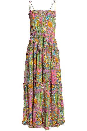 SWF Women's Homecoming Dynamic Hacienda Print Dress - Hacienda - Size Small