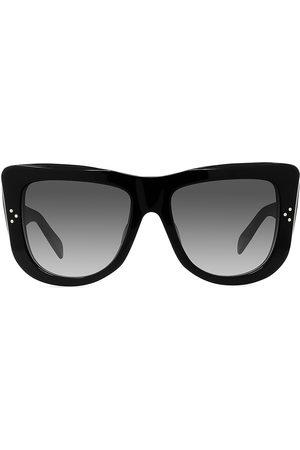 Céline Men's 50MM Plastic Round Sunglasses - Gradient Shiny