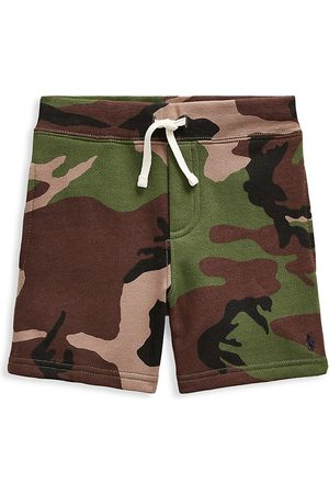 Ralph Lauren Little Boy's & Boy's Printed Fleece Shorts - Multi - Size 8