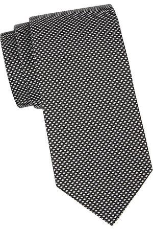 Eton Men Neckties - Men's Diamond Silk Tie