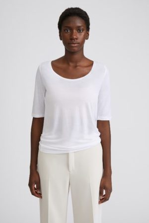 Filippa K Tencel Scoop-neck Tee