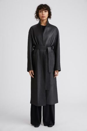 Filippa K Women Coats - Alexa Leather Coat