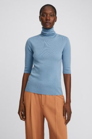 Filippa K Women Tops - Merino Elbow Sleeve Top