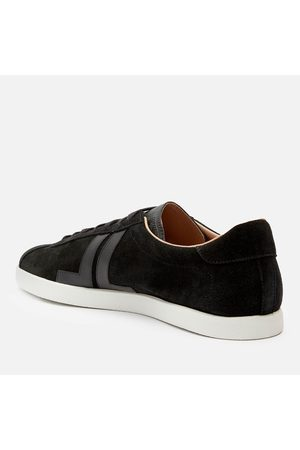 Lanvin Men's Suede/Leather Low Top Trainers
