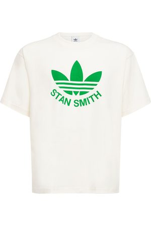 adidas Men T-shirts - Stan Smith Organic Cotton Jersey T-shirt