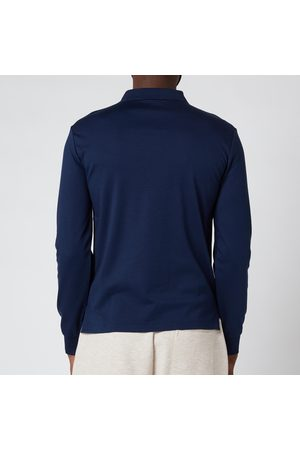 Polo Ralph Lauren Men's Interlock Long Sleeve Polo Shirt