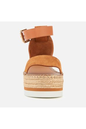 See by Chloé Women Espadrilles - Women's Glyn Flatform Espadrille Sandals