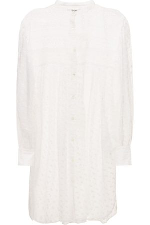 Isabel Marant Tilalia Embroidered Cotton Mini Dress