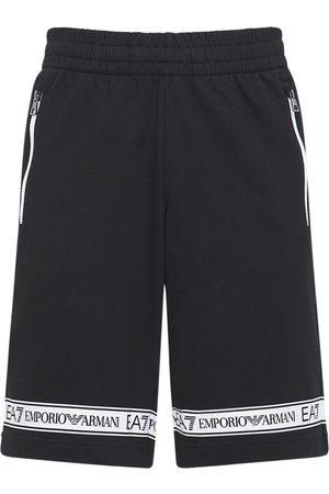EA7 Cotton Bermuda Shorts