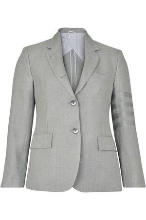 Thom Browne Women Blazers - Classic 4-Bar jacket