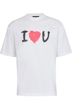 Balenciaga Men Short Sleeve - Medium Fit T-Shirt