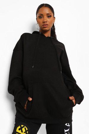 Boohoo Womens Maternity Oversized Pocket Front Hoody - - 4